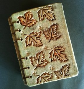 Ceramic Book. Autumn Leaves