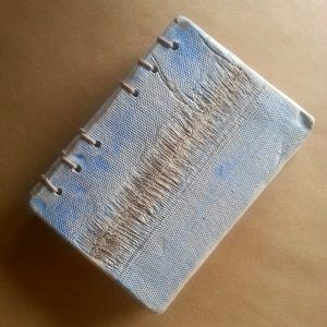 Ceramic book cover