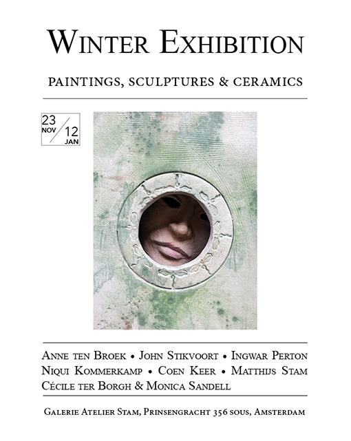 Flyer of Winter exhibition 2012/2013