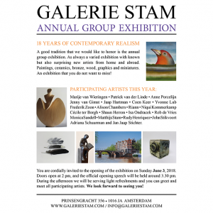 Group exhibition Galerie Stam 2018