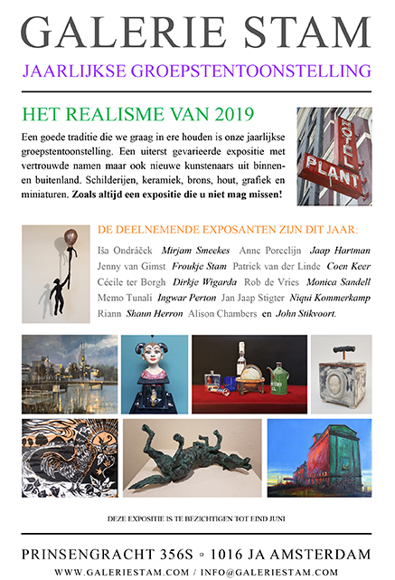 Exhibitions > Gallery Stam April 2019