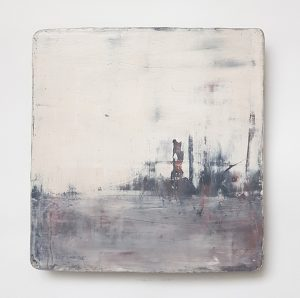 Ceramic Painting 'Along the River'
